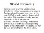 nx and nco cont