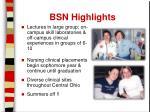 bsn highlights