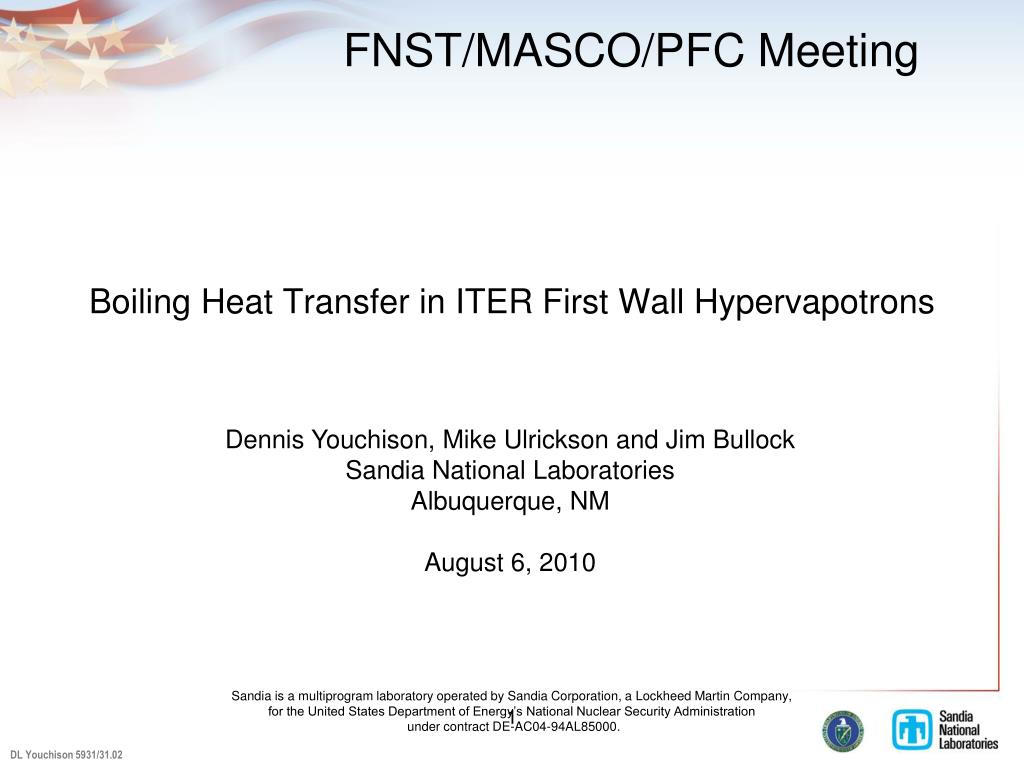boiling heat transfer in iter first wall hypervapotrons l.