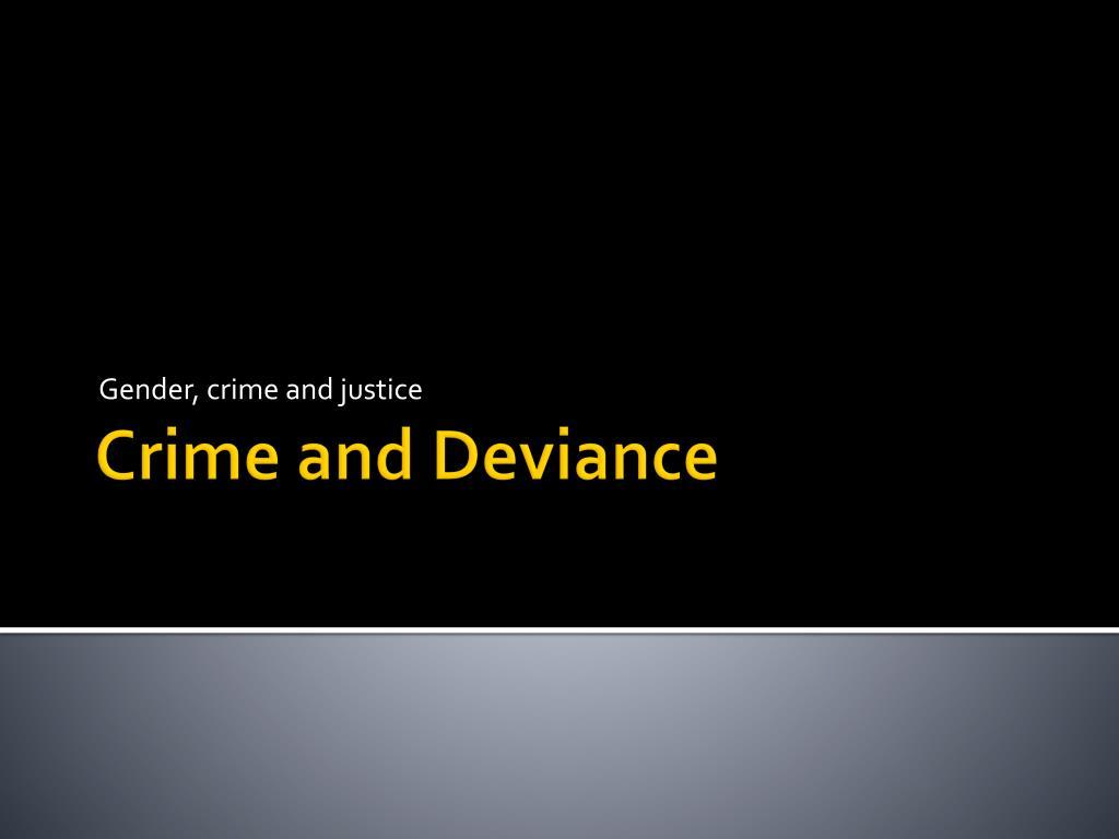 gender crime and justice l.
