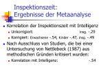 inspektionszeit ergebnisse der metaanalyse