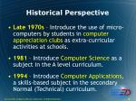 historical perspective4