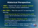 historical perspective5