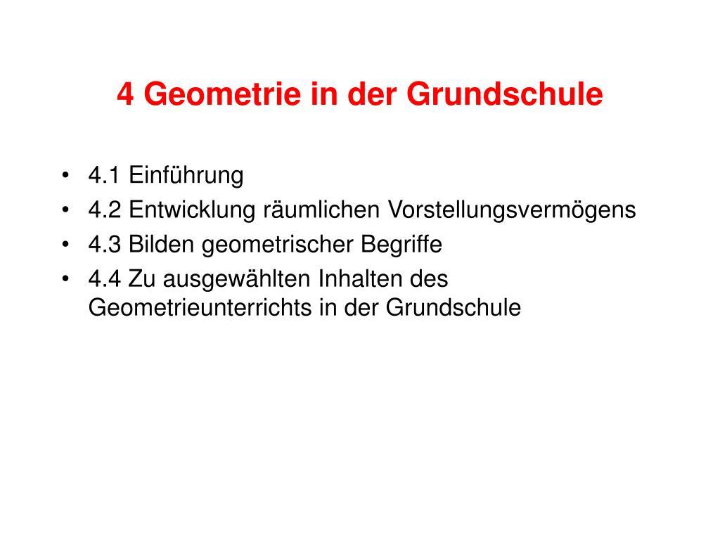 4 geometrie in der grundschule l.