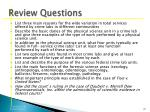 review questions22