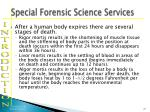 special forensic science services17