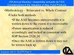 cia annual meeting assembl e annuelle de l ica considerations in the valuation of seg fund products11