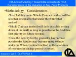 cia annual meeting assembl e annuelle de l ica considerations in the valuation of seg fund products23
