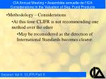 cia annual meeting assembl e annuelle de l ica considerations in the valuation of seg fund products24