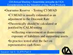 cia annual meeting assembl e annuelle de l ica considerations in the valuation of seg fund products28