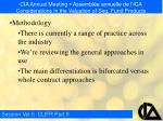 cia annual meeting assembl e annuelle de l ica considerations in the valuation of seg fund products4