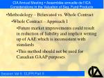 cia annual meeting assembl e annuelle de l ica considerations in the valuation of seg fund products8