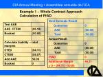 cia annual meeting assembl e annuelle de l ica35