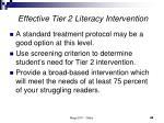 effective tier 2 literacy intervention