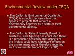environmental review under ceqa