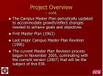 project overview cont