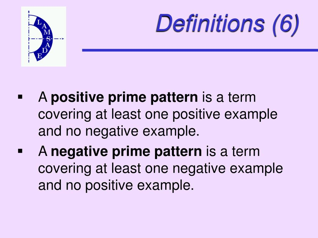 Definitions (6)
