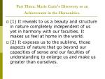part three marie curie s discovery as an achievement in the humanities
