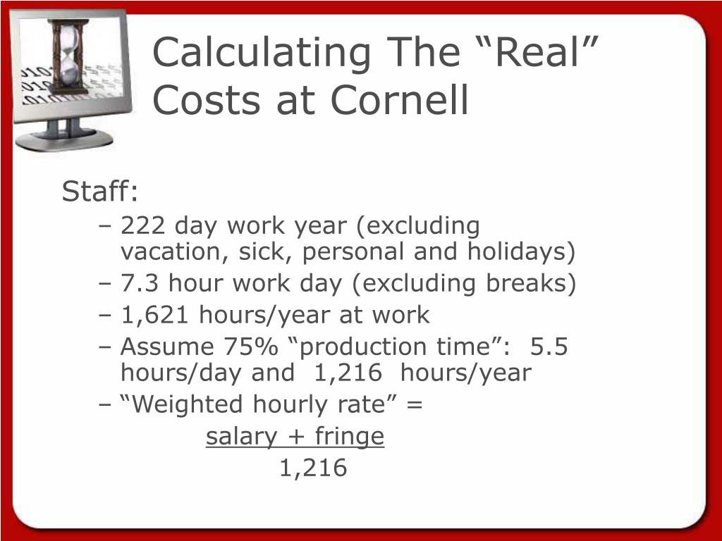 "Calculating The ""Real"" Costs at Cornell"