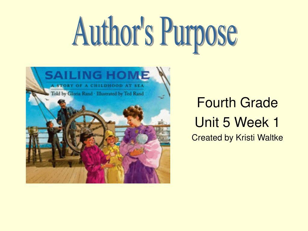 fourth grade unit 5 week 1 created by kristi waltke l.