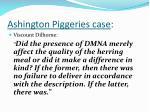 ashington piggeries case