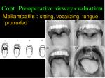 cont preoperative airway evaluation10