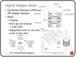 hybrid stepper m otor