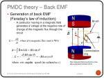 pmdc theory back emf