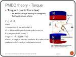 pmdc theory torque