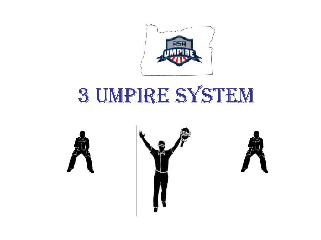 3 umpire system l.
