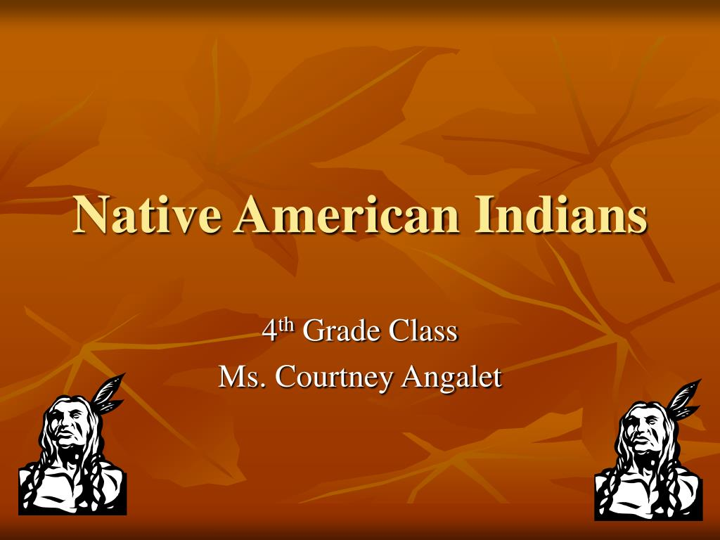 native american indians l.