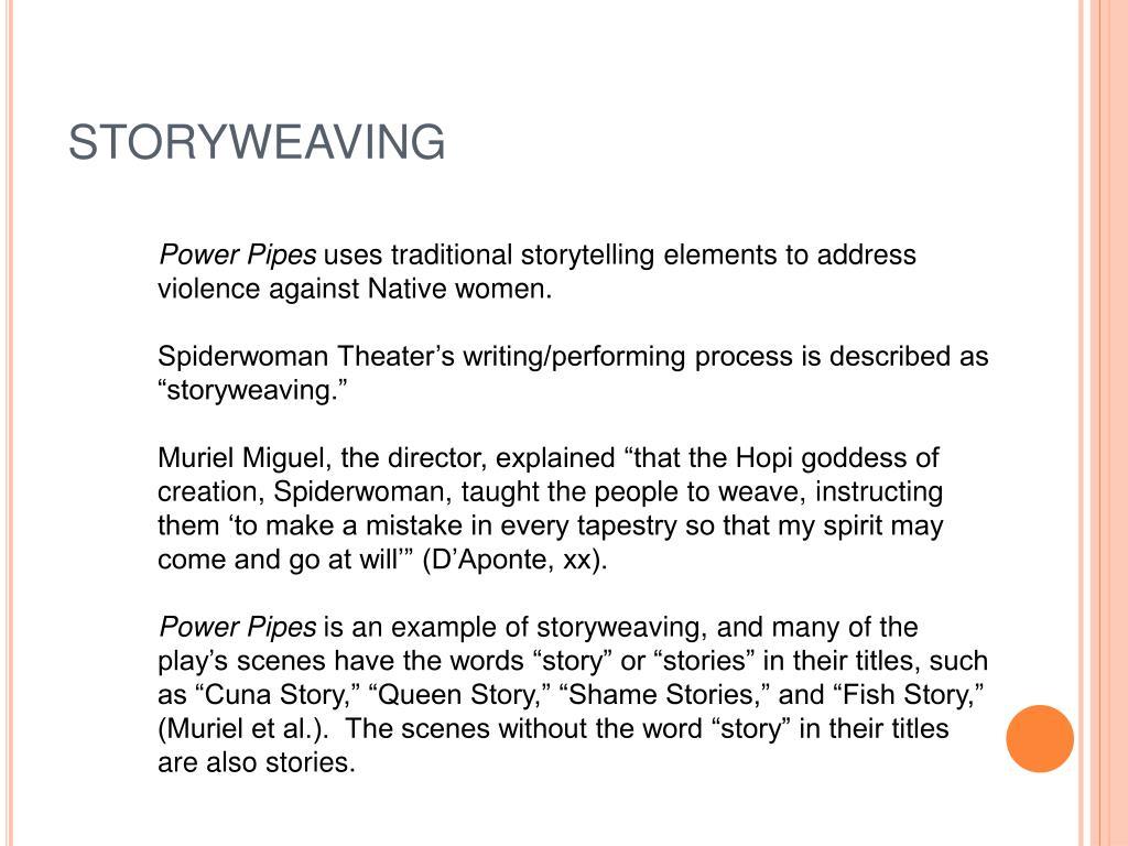 STORYWEAVING