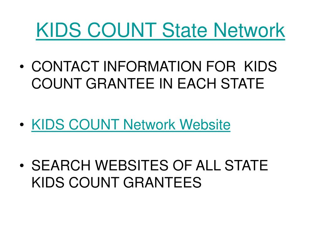 KIDS COUNT State Network