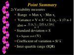 point summary16