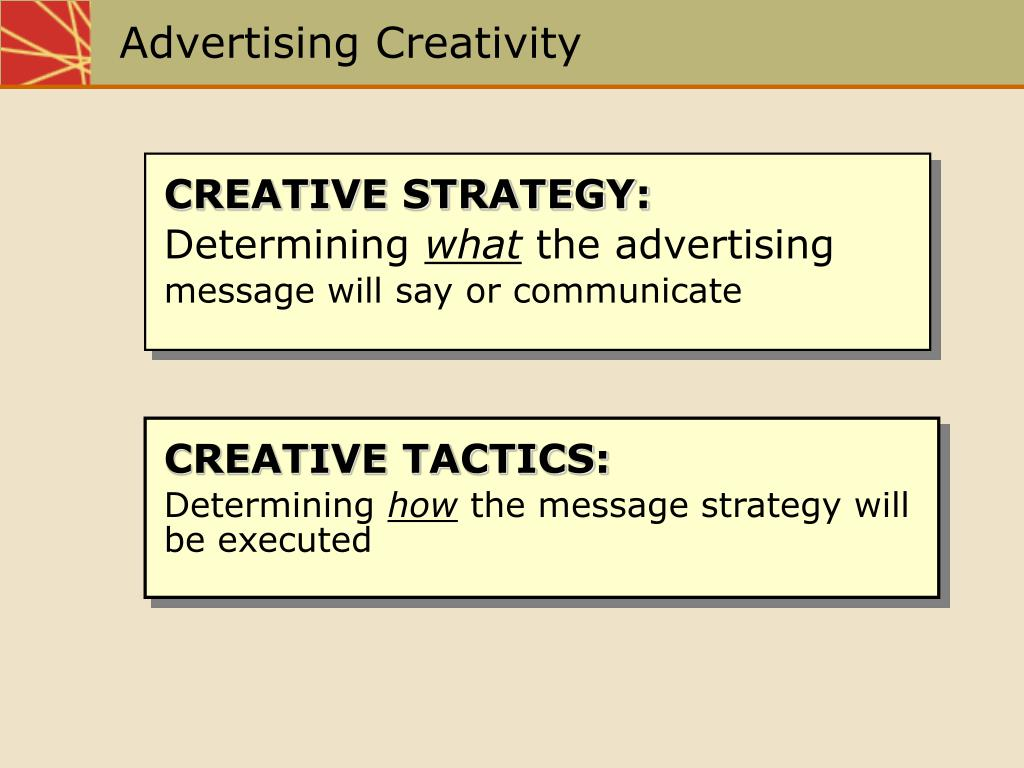advertising creativity l.