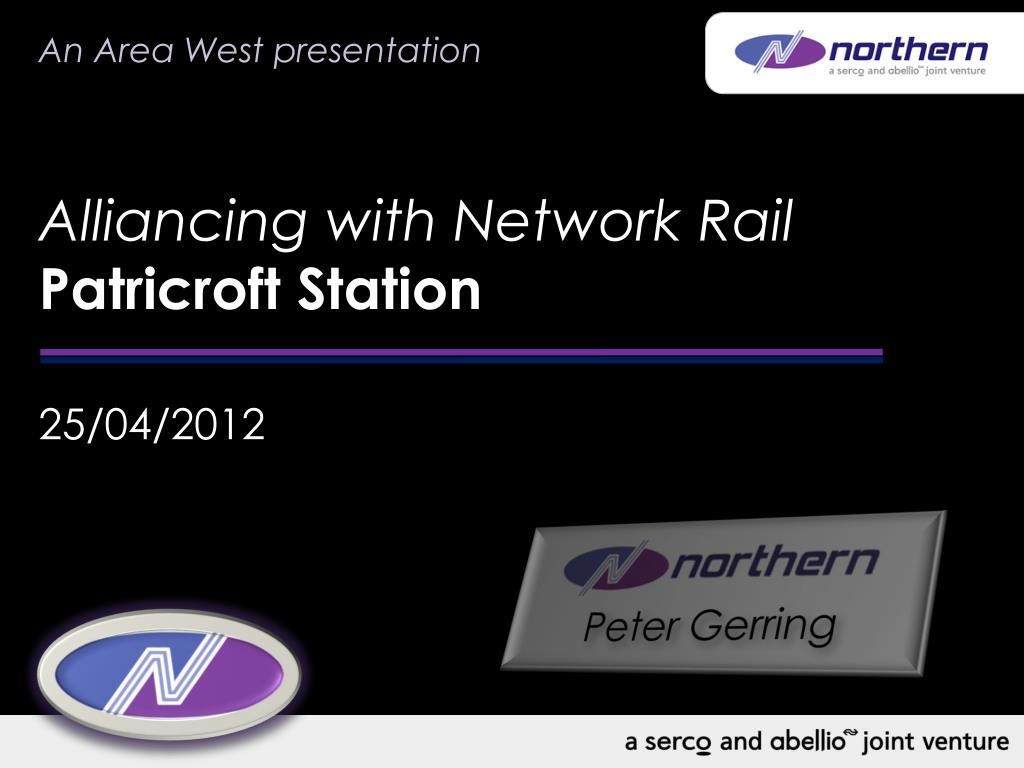 alliancing with network rail patricroft station l.