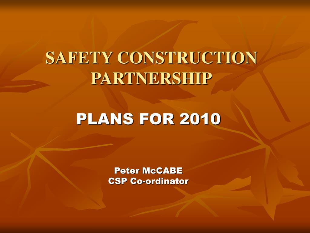 safety construction partnership l.