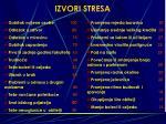 izvori stresa