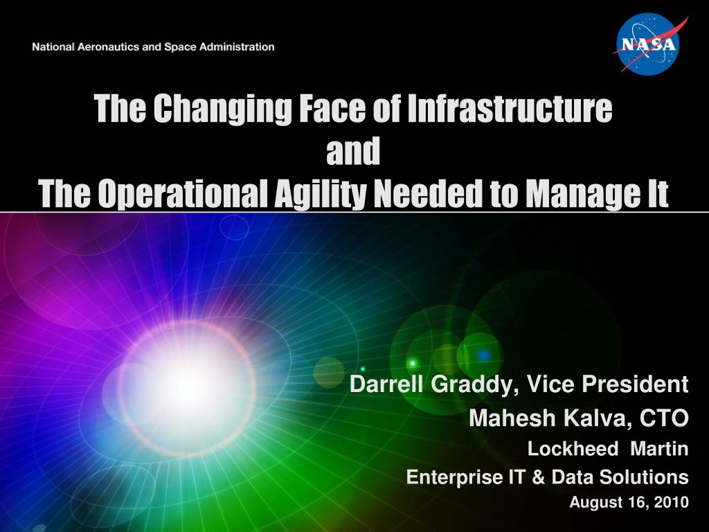 the changing face of infrastructure and the operational agility needed to manage it l.