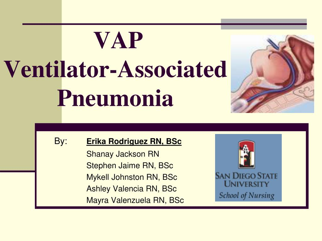 vap ventilator associated pneumonia l.