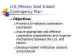 u s mexico joint inland contingency plan