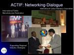 actif networking dialogue