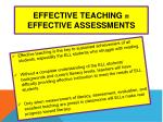 effective teaching effective assessments39