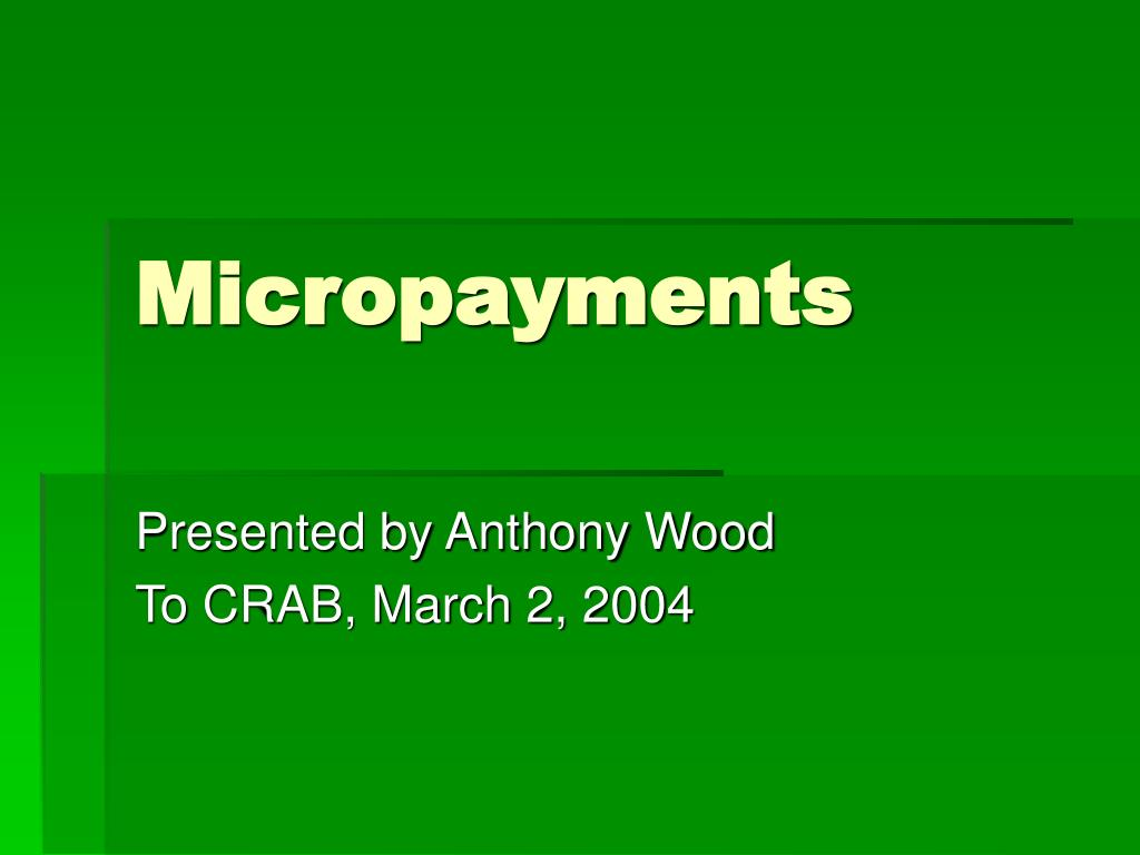 micropayments l.