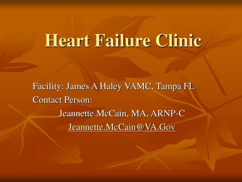 heart failure clinic l.