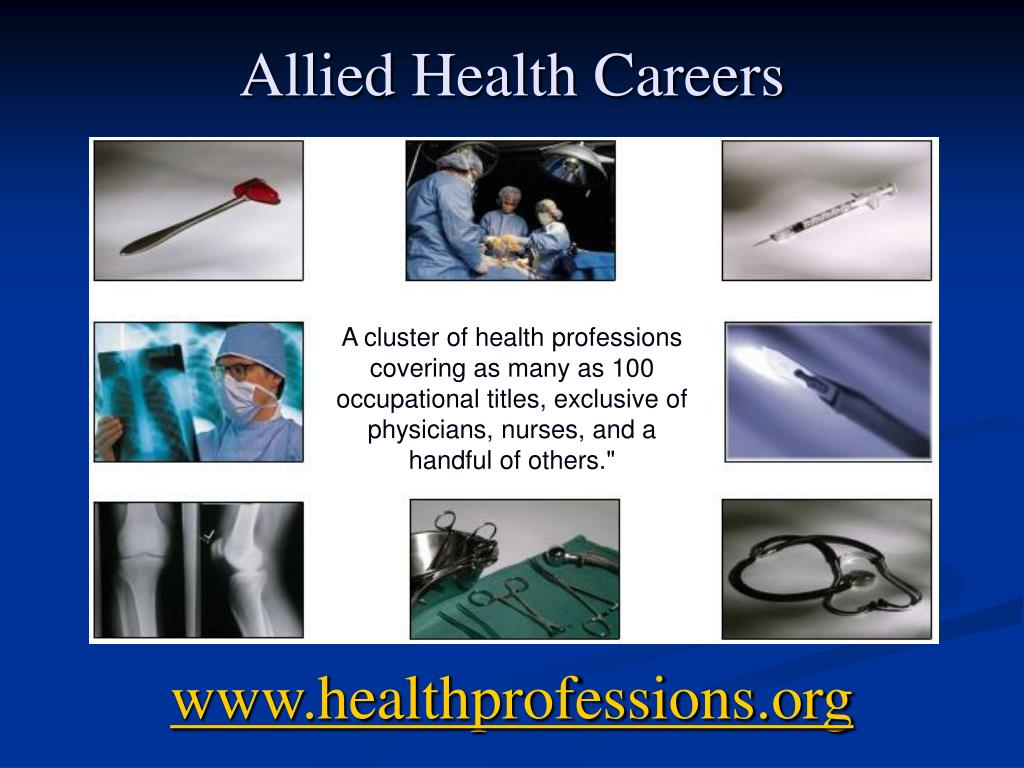 allied health careers l.