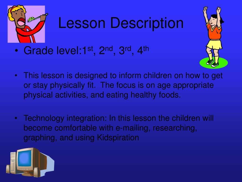 Lesson Description
