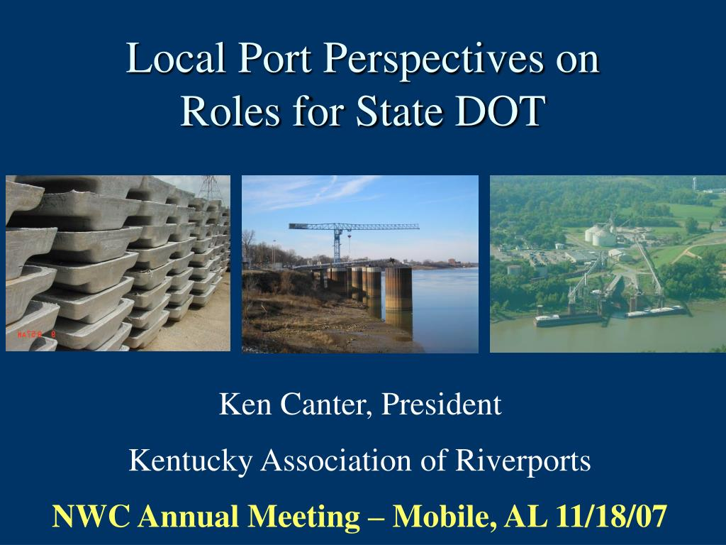 local port perspectives on roles for state dot l.