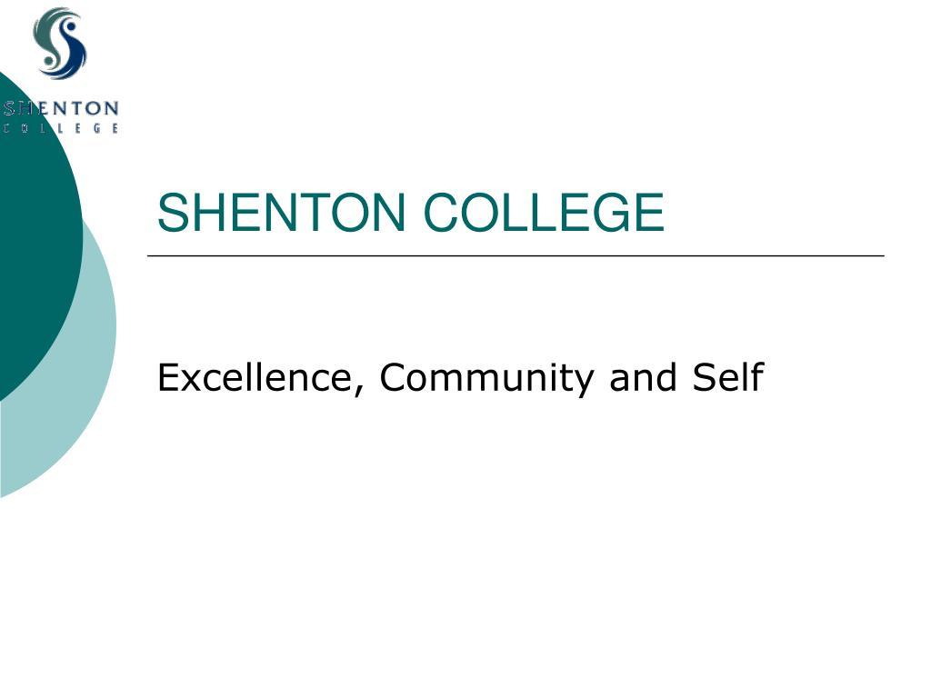shenton college l.