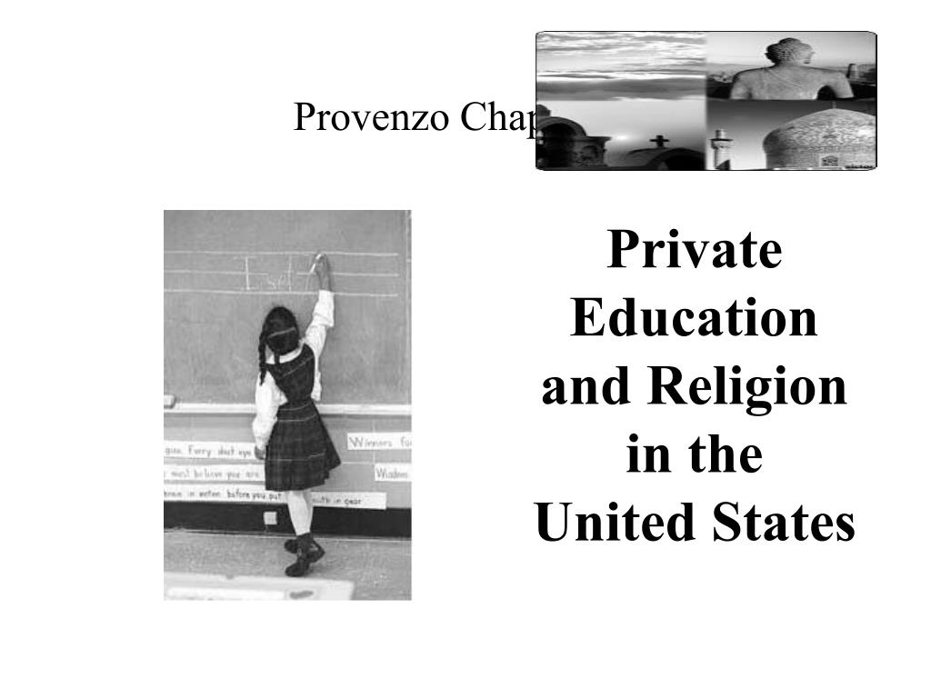 private education and religion in the united states l.
